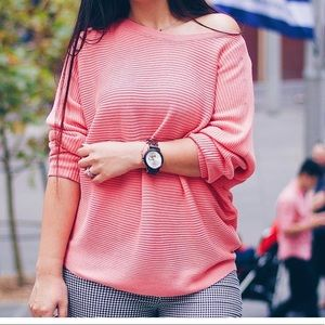 Pink knit | pink jumper